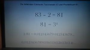 Die fantastische Zahl 81