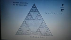 Teilbarkeit durch 2. Verteilung der Dreiecke
